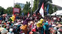 Pertambangan Masih Berlangsung, Petani Kendeng Minta Jokowi Tegas ke Pemprov Jateng