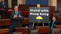 DPR AS Sahkan UU yang Mendukung HAM dan Demokrasi Hong Kong