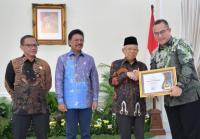 IPB Raih Penghargaan, Wapres Ma'ruf: Pentingnya Arti Informasi