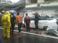 Hujan Es dan Angin Landa Kota Malang, 1 Orang Tertimpa Tembok