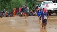 Puluhan Mahasiswa Terjebak Banjir Bandang dan Tanah Longsor di Lebak