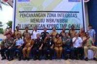 Bea Cukai Tual Canangkan Zona Integritas Menuju WBK/WBBM