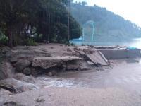 Banjir Bandang Rusak Jembatan dan Pelabuhan di Samosir