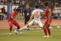 Detik-Detik Tekel Horor Doan Van Hau kepada Evan Dimas