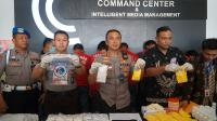 Polisi Tangkap 6 Pengedar 1,9 Juta Butir Pil Koplo