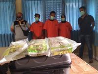 Tangkap 3 Kurir Narkoba, BNN Jambi Sita 5 Kg Sabu