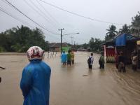 Banjir Bandang di Lahat Putus Akses Komunikasi
