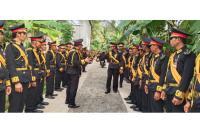 Polisi Temukan Pistol saat Geledah Kontrakan Raja Keraton Agung Sejagat