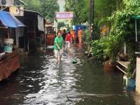 Foto-Foto Banjir di Kelurahan Gunung Jakarta Selatan