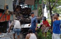 Ini Identitas 7 Korban Tabrakan Truk Tangki vs Bus Dewi Sri di Pantura
