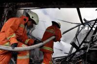 30 Rumah di Kawasan Padat Penduduk Sibolga Ludes Terbakar