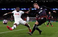 Tottenham vs Leipzig, Skor Kacamata Hiasi Babak Pertama