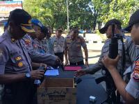 7 Senpi Laras Pendek Anggota Polres Bengkulu Ditarik, Ini Penyebabnya
