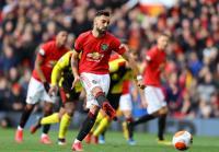 Gol Perdana Fernandes Bawa Man United Unggul atas Watford di Babak Pertama