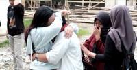 Isak Tangis Iringi Kepulangan Jenazah Mahasiswi yang Tenggelam di Air Terjun
