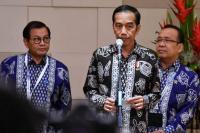Presiden Jokowi Hadiri Pengukuhan Kiai Asep Saifuddin sebagai Guru Besar UIN Sunan Ampel