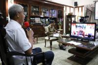 Lapor Jokowi, Ganjar Siapkan Rp1,4 Triliun Tangani Pandemi Corona