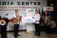 MNC Group Serahkan Bantuan Alat Medis ke Gugus Tugas Covid-19