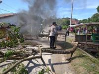 Tutup Jalan Tolak Jenazah Pasien Positif Corona, 5 Warga Gowa Ditangkap