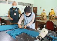 Siswa SMK di Jatim Produksi Ribuan APD