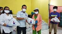 Perindo Sumut Bagikan Ratusan Paket Sembako untuk Warga di Tengah Pandemi Covid-19