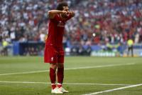Selebrasi Unik Mohamed Salah di Final Liga Champions yang Terinspirasi dari Putrinya