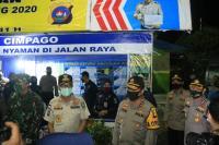 Antisipasi Pemudik, 100 Pasukan Brimob Ditambah ke Perbatasan Sumbar-Riau