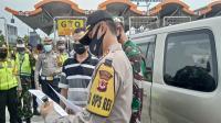 Arus Balik, Lima Pintu Tol di Cirebon Menuju Jakarta Ditutup