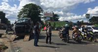 Tabrakan Beruntun 3 Sepeda Motor dan 1 Mobil, Satu Anak-Anak Meninggal Dunia