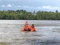 Bocah SD Terseret Arus Sungai di Bengkulu, 3 Selamat 1 Hilang