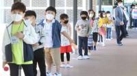 Lonjakan Kasus Covid-19, Ratusan Sekolah di Korea Selatan Ditutup Lagi