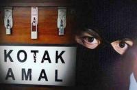 Viral Maling Curi Kotak Amal di Masjid Jami Teluk Tiram Banjarmasin