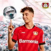 Kai Havertz Buat Rekor Baru di Bundesliga Usai Cetak Gol di Laga Freiburg vs Leverkusen