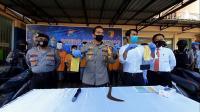 Polisi Tangkap Komplotan Begal yang Tega Bunuh Korbannya di Jember