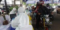 735 Warga Serang Jalani Rapid Test <i>Drive Thru</i>, Hasilnya 2 Orang Reaktif Corona