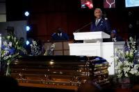 Misa Peringatan George Floyd Digelar di Minneapolis, Warga Afrika-Amerika Diserukan Bangkit