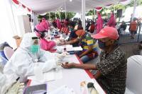 Ribuan Warga Kediri Ikut Rapid Test Massal