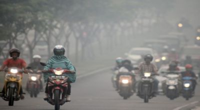Kabut Asap Ancam Riau Jelang Lebaran