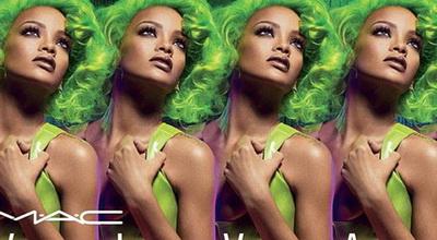 Rihanna Rilis Lipstik Perak untuk MAC