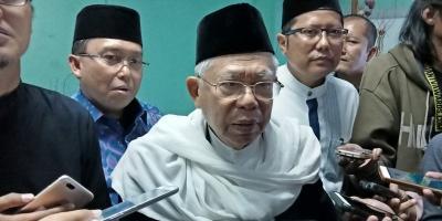 Ma'ruf Amin: Kalau Saya Tidak Ambil, Mungkin yang Diambil Bukan Ulama