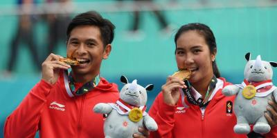 Kunci Sukses Christopher Aldila Raih Emas di Asian Games 2018