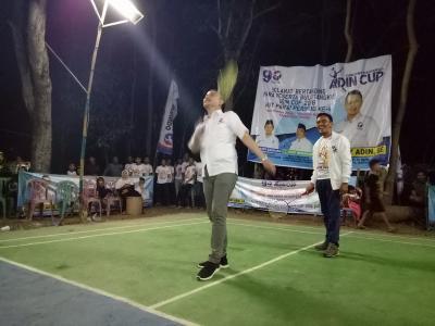 Turnamen Bulu Tangkis Adin Cup Meriahkan HUT Perindo di Karawang
