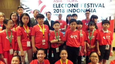 Musisi Muda Indonesia Berjaya di Kompetisi Asia Pacific Electone Festival