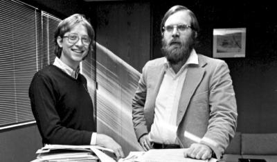 Jejak Bill Gates dan Paul Allen Sebelum Mendirikan Microsoft