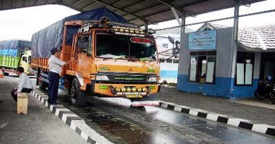 Berantas Pungli, Jembatan Timbang Lampung Beroperasi