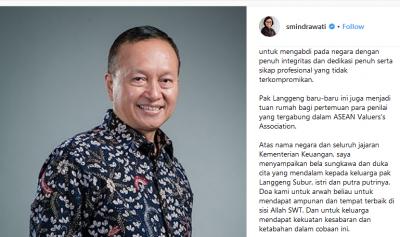 Kenangan Sri Mulyani Bersama Kepala Pusat Pembinaan Profesi Langgeng Subur