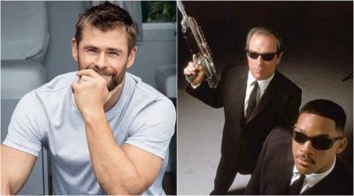 Chris Hemsworth Pamer Foto Selesainya Proses Syuting Men in Black
