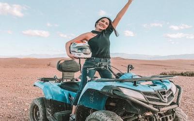 Ngilu! Liburan ke Maroko, Betis Acha Sinaga Tertancap Duri Kaktus