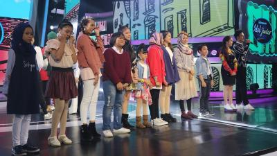 10 Kontestan Bakal Bersaing Ketat di Spekta Show Indonesian Idol Junior 2018