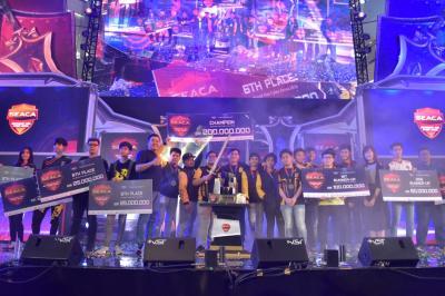Turnamen eSports Internasional SEACA Hasilkan Atlet eSports Kelas Dunia